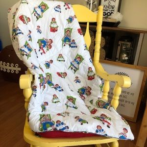 Vintage Raggedy Ann Andy Crib Comforter Baby Bed